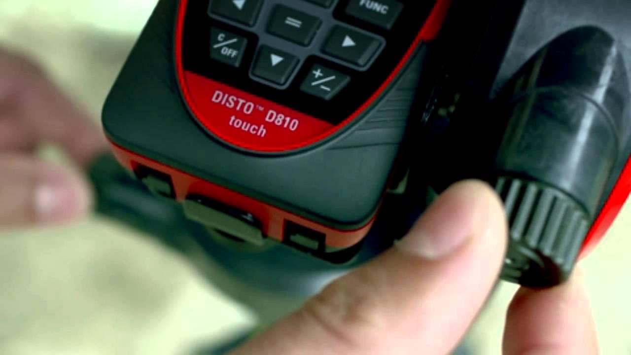 Laser entfernungsmesser leica disto d810 touch app layer
