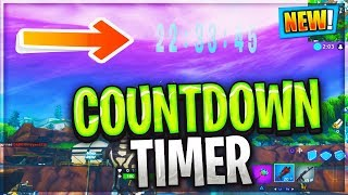 FORTNITE LOOT LAKE NEXUS EVENT START TIME COUNTDOWN VOLCANO ERUPTING