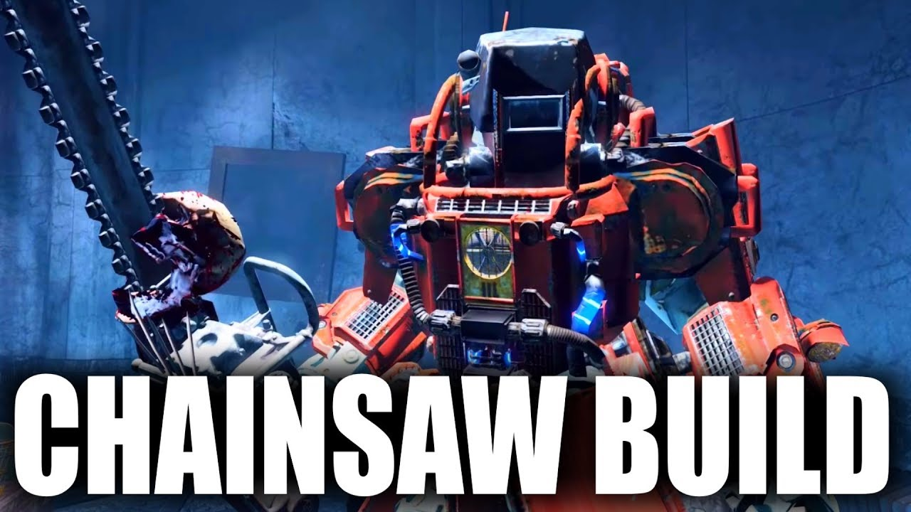 Fallout 4 Builds The Constructor Chainsaw Power Armor Modded Build YouTube