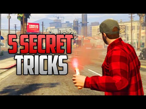 GTA 5 - 5 Things You Probably Never Knew You Could Do