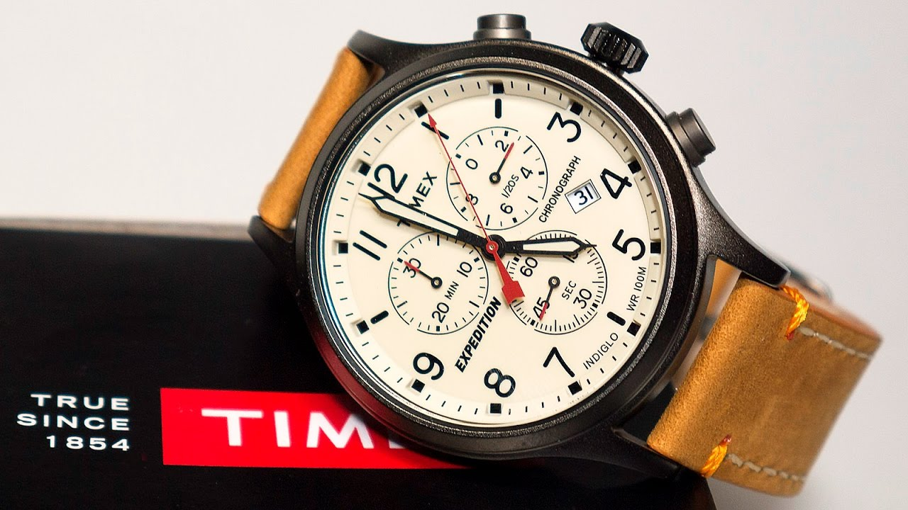 3c1b242bea63 Timex Expedition Scout TwC012700 Watch - YouTube