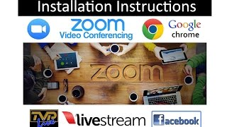 Gambar cover How to Install 'Zoom Meetings' on a Laptop PC with Camera