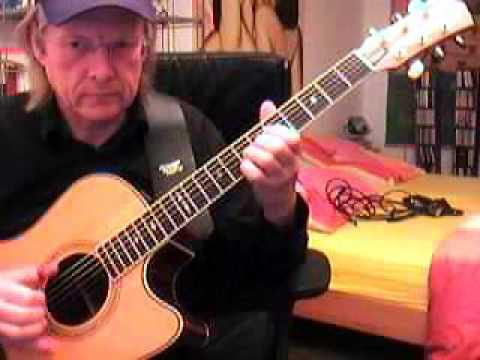 Spirit in the Sky Fingerstyle Guitar Lesson by Siggi Mertens