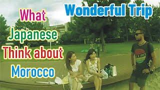 Moroccan in japan مغربي فى اليابان
