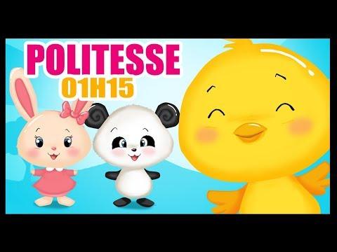 La politesse - 1h15 min de Chansons et Comptines pour bébés avec les Titounis
