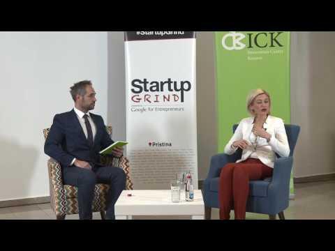 Startup Grind Prishtina Event 11 presented Mimoza Kusari-Lila (Gjakova Mayor)