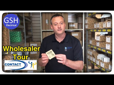 Tour Of Contact Electrical Wholesale In Birmingham Part 2 Gaz Helps Himself To The Stock