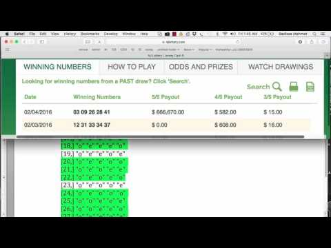 LOTTODDS: Number Ranges, Odd-Even and Group Patterns