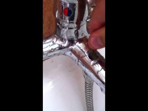 c mo reparar un grifo de ducha y ba era que gotea doovi