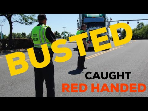 DOT INSPECTION OFFICER ENTRAPMENT / PROFILING ? Inside Tennessee rest area 2018 ( trucking )