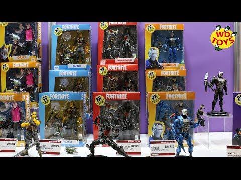 New Fortnite Toys McFarlane Toys & Jazwares New York Toy Fair 2019 WD Toys
