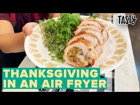 Air Fryer Thanksgiving For One • Tasty
