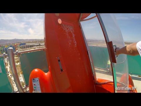[HD] Zuma ZOOMa Trap Door Water Slide POV 2015 - Cowabunga Bay 2015