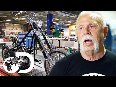 Trying To Get Some Work Done On A Crazy Chopper | American Chopper