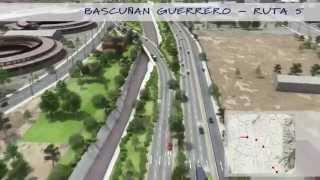 Animación 3D HD Autopistas y Corredores Urbanos, Vialidad 3D