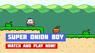 Super Onion Boy · Game · Gameplay