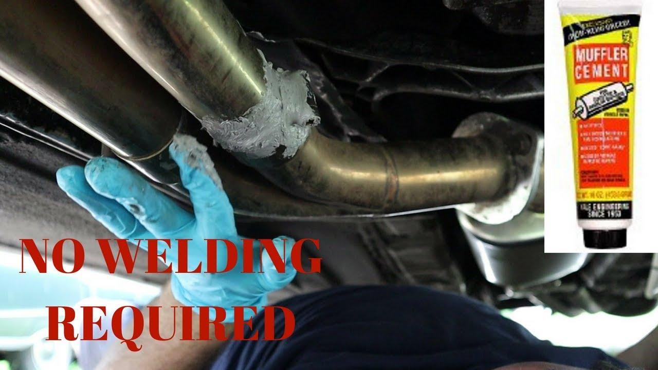 budget exhaust leak fix
