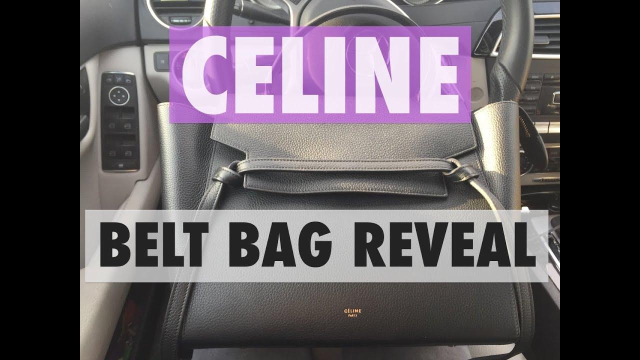 celine luggage replica - CELINE BELT BAG REVEAL | MELSOLDERA - YouTube
