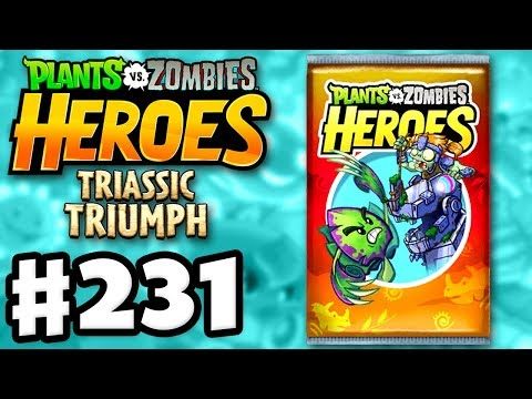TRIASSIC TRIUMPH! 50 New Cards! - Plants vs. Zombies: Heroes - Gameplay Walkthrough Part 231