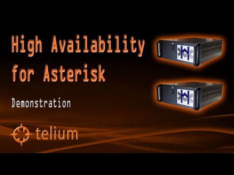 Asterisk High Availability Cluster Failover Demonstration