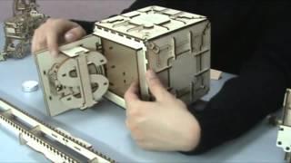UGears.es Safe Instruction - Instrucción de Caja fuerte