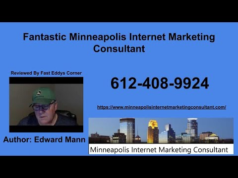 Fantastic Minneapolis Internet Marketing Consultant reviewed by Fast Eddys Corner