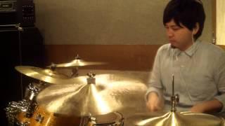 ドラムコンテスト2015のマイナスワンを叩いてみました!! drum 岩崎貴...