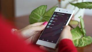 Recenzja Android 7.0 Sony UI Xperia XA1