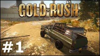 Gold Rush #1 - Jeżdżę tam i nazad i szukam łopaty