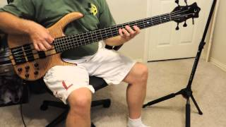 Gino Vannelli - Feel Like Flying (Bass Cover) - Tim Bishop.