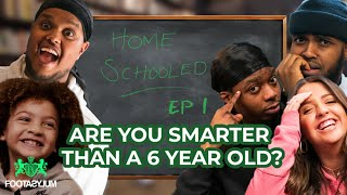 CHUNKZ and DARKEST BATTLE A 6 YEAR OLD!!! | Home Schooled | Ep 1