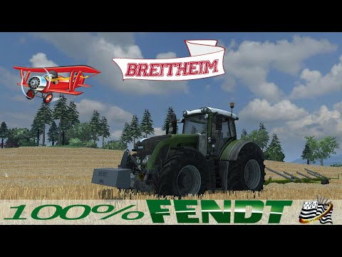 farming simulator 2013 / EP 2  / Map Breitheim / 100% fendt