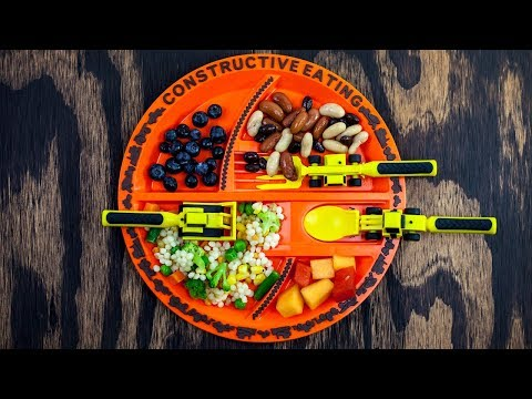 Constructive Eating - Function and Play Dinnerware