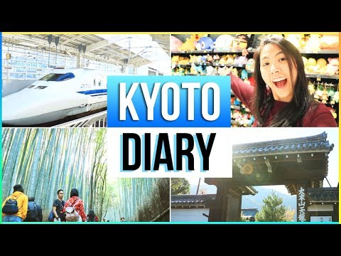 ⛩️JAPAN VLOG: KYOTO TRAVEL DIARY 2018 | Katie Tracy