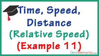 time speed distance tricks– relative speed example gmat gre cat bank po ssc cgl
