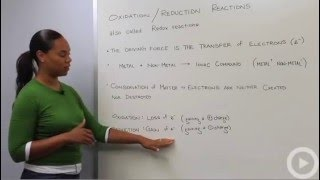 Oxidation Reduction Reactions - Redox