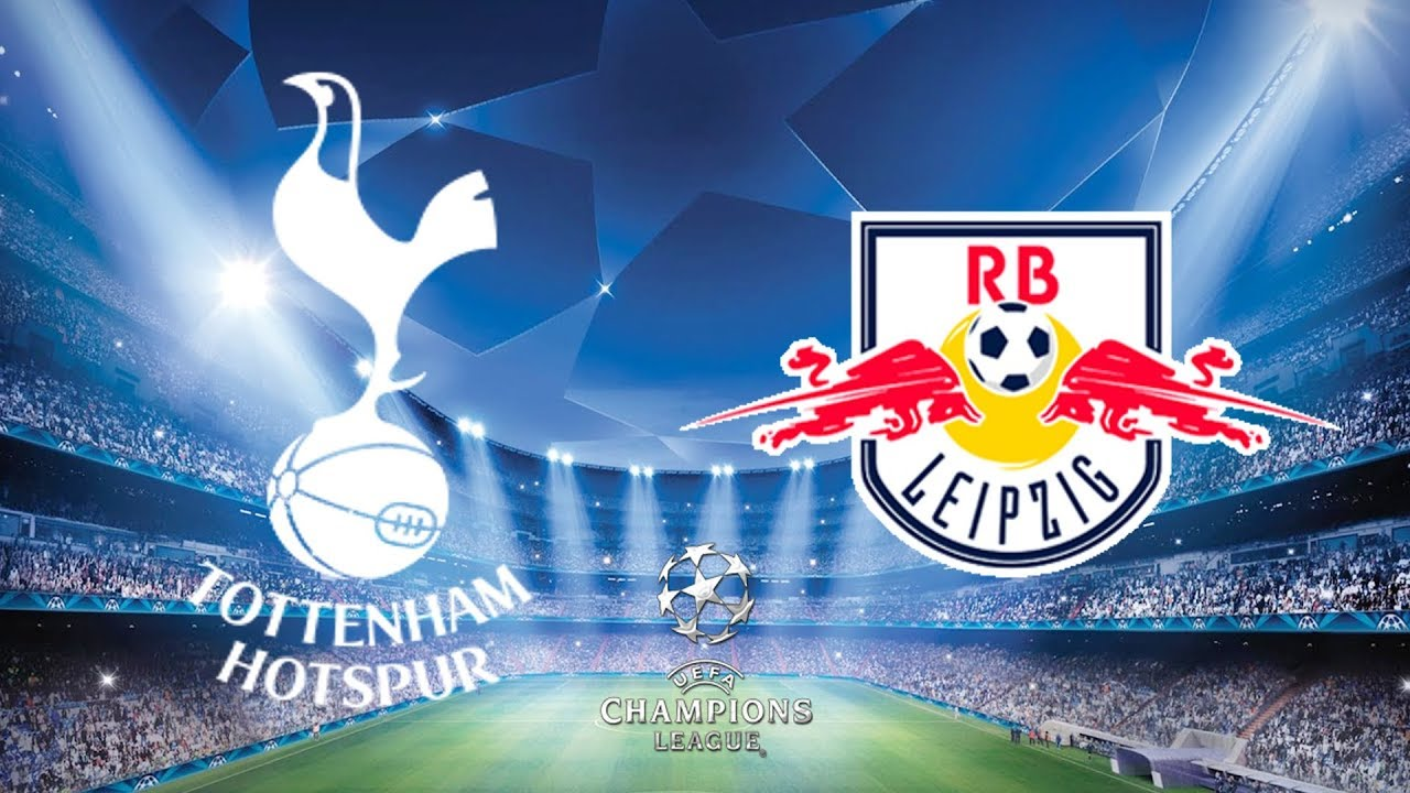 Image result for Tottenham Hotspur vs RB Leipzig  Champions League Round of 16
