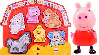 Mejores Videos Para Niños - Peppa Pig Fisher Price Farm Animals Fun Videos For Kids