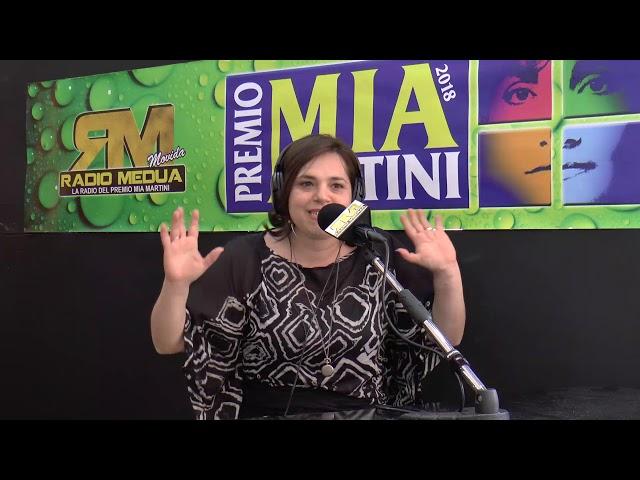 ANGELITA PULIAFITO intervista su Radio Medua