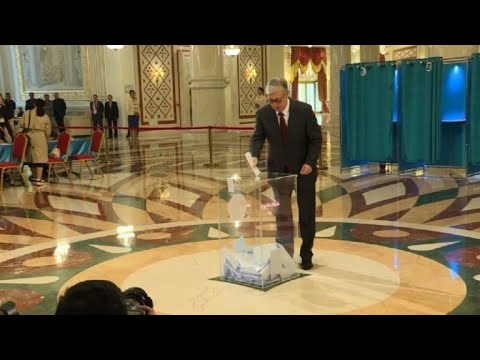 Tokayev casts vote in Kazakhstan election | AFP