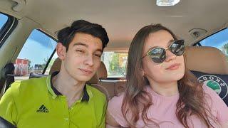 Kız arkadaşıma araba sürmeyi öğretiyorum  2.Bölüm  Dur-Kalk ve Panik Fren