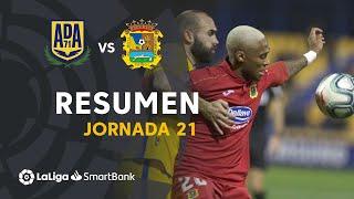 Resumen de AD Alcorcón vs CF Fuenlabrada (1-1)