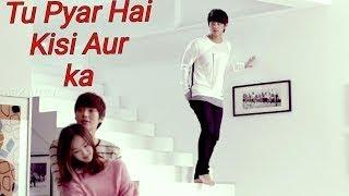 Tu Pyar Hai Kisi Aur Ka #  || Coverby Sampreet Dutta || Dil Hai Ki Manta Nahin || Animated  Lyrics