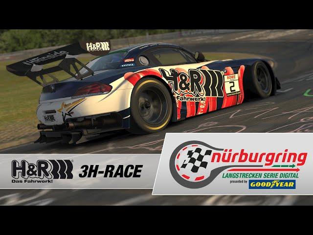 H&R 3h-Rennen – Rennen 1 der Digitalen Nürburgring Langstrecken-Serie presented by Goodyear