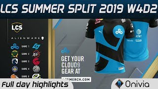 Full Day Highlights LCS Summer 2019 W4D2 By Onivia