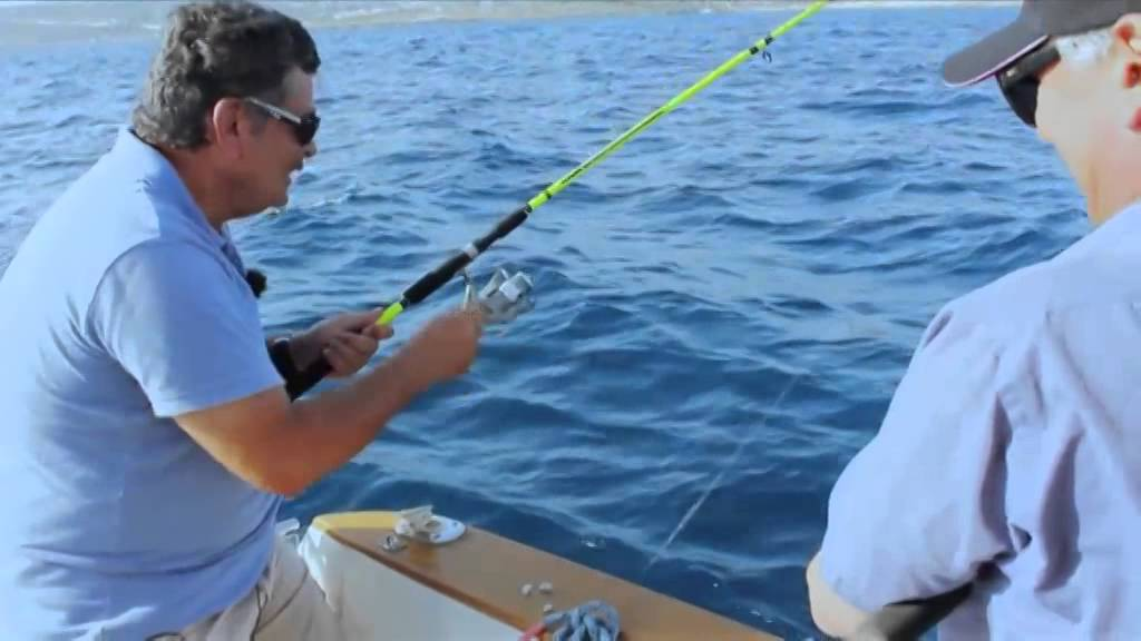 Emi goes fishing with mario vella for Mario go fish