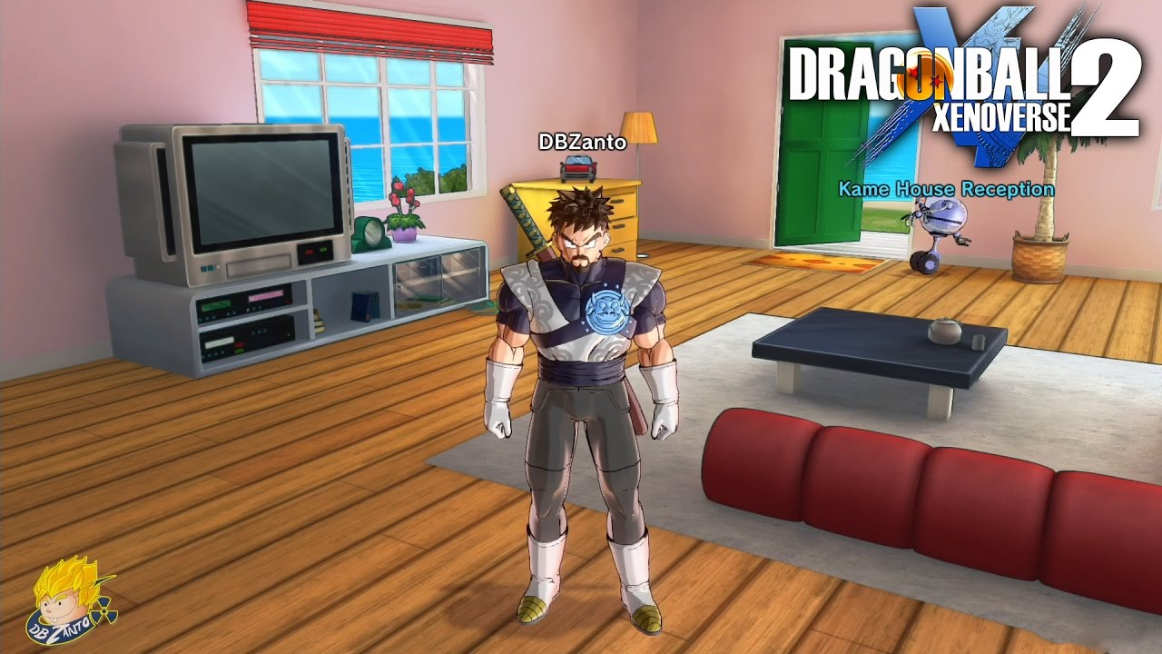 Dragon ball xenoverse 2 free roaming conton city found for Dragon ball z living room
