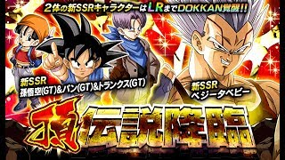 Dual Featured LR Baby and LR GoPunks Banner Summons 400 Stones Testing Rates | DBZ Dokkan Battle JP