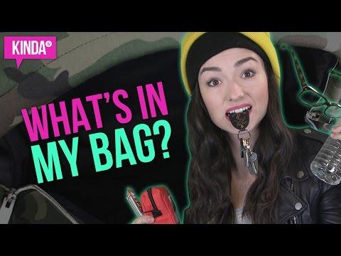 WHAT'S IN MY BAG??!   KindaTV ft. Natasha Negovanlis