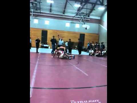 Cameron corey wrestling 11/2010